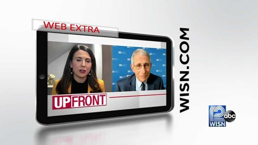 Web Extra: Fauci says 'help on way'