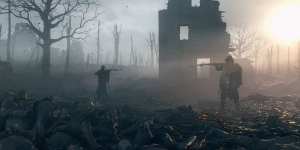 Players in the World War 1 video game 'Battlefield 1' held a ceasefire to commemorate the 100th anniversary of the day the war ended