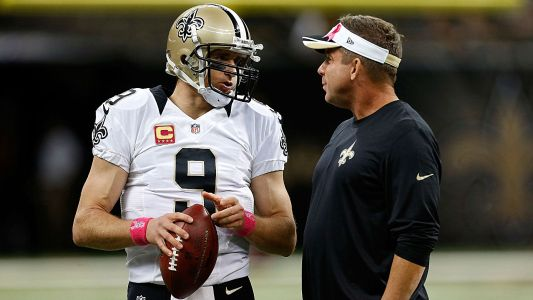 Drew Brees, Sean Payton move up list of great QB/coach duos