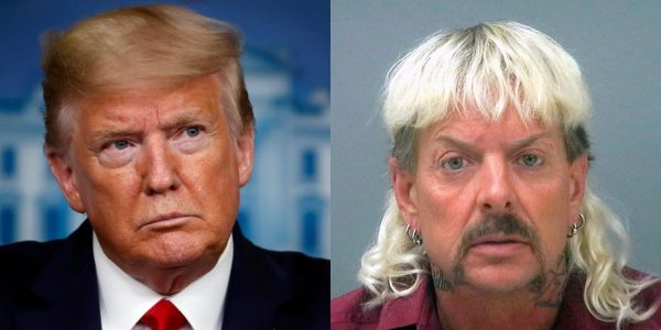 Representatives for 'Tiger King's' Joe Exotic are said to be chasing Trump down for a pardon and spending thousands of dollars to get it