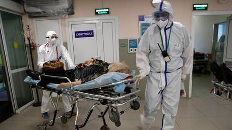 Worrying times in Kiev as Ukraine hits daily record of Covid-19 cases, while infections in Russia also continue to rise