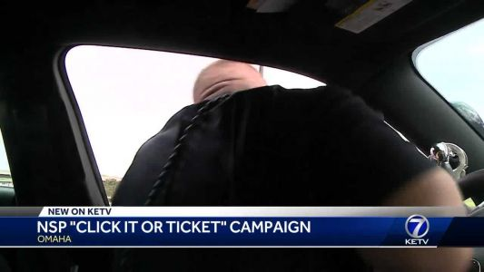 Nebraska State Troopers conduct Click it or Ticket campaign