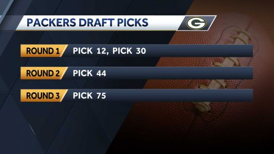 Green Bay Packers have two first-round NFL draft picks