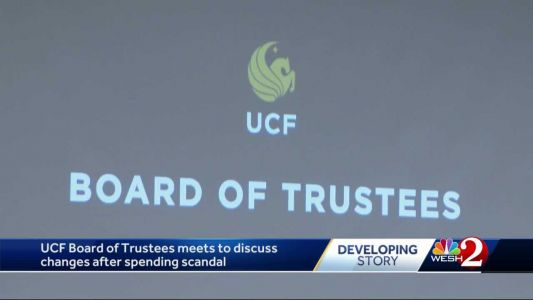 UCF Board of Trustees meets to discuss changes after spending scandal