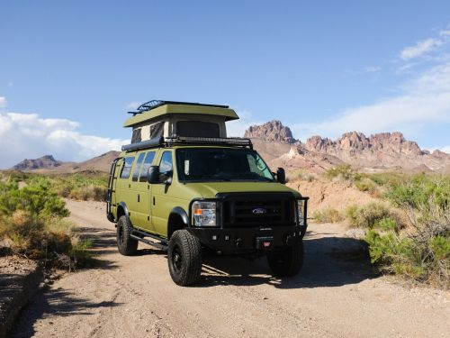 Sportsmobile's off-road Ford camper van has a 'penthouse' roof for up to $225,000 - see inside the Classic 4x4