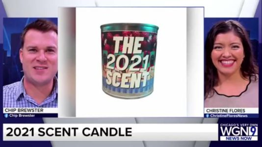 2021 has a scent, it's available in a candle