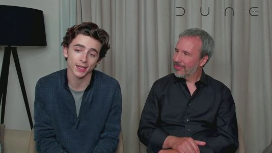 Timothée Chamalet says 'Dune' puts his acting on a new level