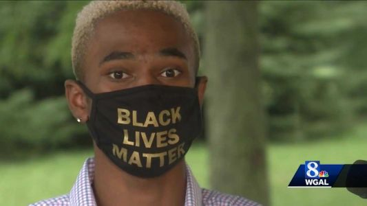 York teenager speaks out after being removed from graduation ceremony due to 'Black Lives Matter' face mask