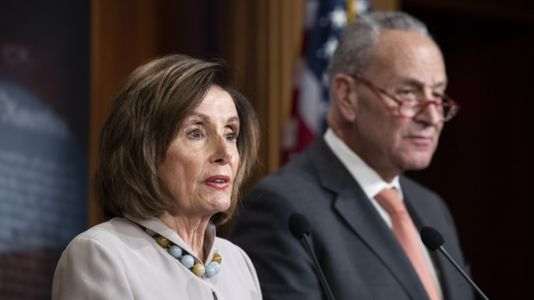 Pelosi And Schumer Push To Double Size Of 'Interim Emergency' Relief Bill