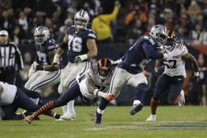 Prescott outplayed by Trubisky as Cowboys lose again