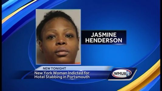 NY woman indicted for hotel stabbing in Portsmouth