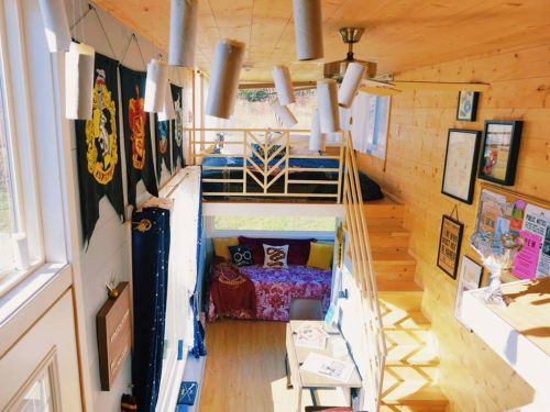 You can rent a 300-square-foot 'Harry Potter'-themed tiny home on Airbnb