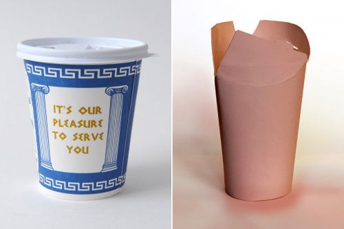 Iconic NYC coffee cup under siege by lid-free newcomer