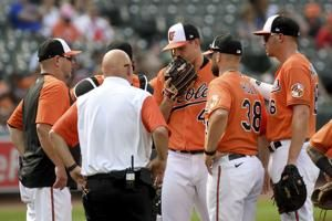 Orioles ace John Means placed on 10-day Injured List with shoulder strain