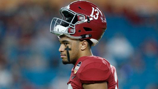 Alabama's Tua Tagovailoa says he'll be 'back for LSU', per report