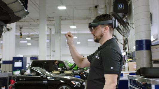 Mercedes and Microsoft have teamed up to develop virtual maintenance technology for the coronavirus age