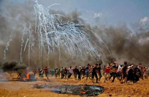 Between Jerusalem, Gaza and the Media: The Tear Gas Spectacular