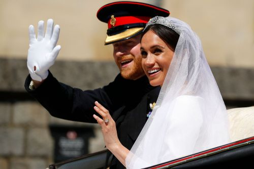 How Meghan Markle's wedding veil honored her first date with Prince Harry