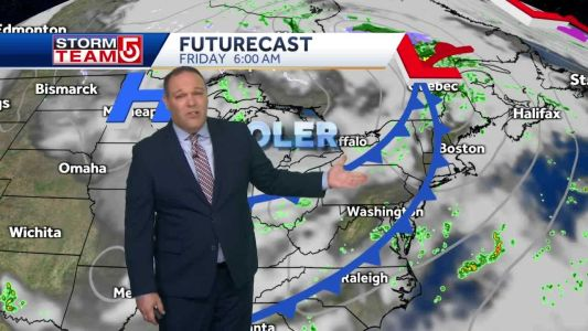Video: More fall-like weather approaching