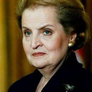 1996: Albright tapped for secretary of state