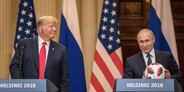 New book claims that Trump was 'surprised' when Nikki Haley confronted him over his head-scratching Helsinki summit with Putin
