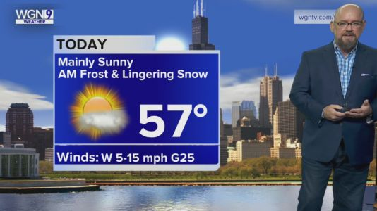 Thursday Forecast: Mainly sunny skies with morning frost, high of 57