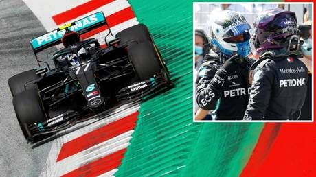 Austrian Grand Prix: Valtteri Bottas on top as Mercedes DOMINATES qualifying at the Red Bull Ring