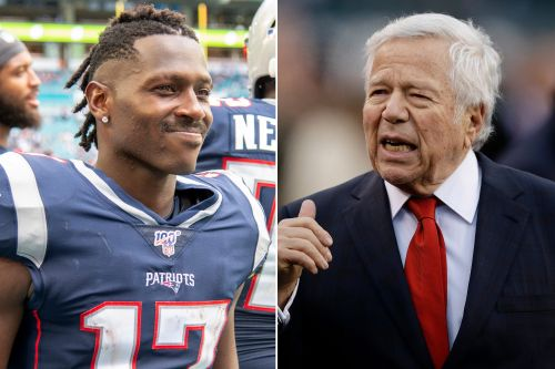 Antonio Brown apologizes to Robert Kraft - and gets Tom Brady's approval