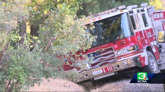 2 arrested after multi-agency chase of stolen fire truck