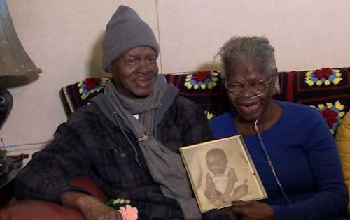 55 years after being kidnapped by babysitter, man has emotional reunion with his mother
