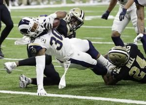 Rams star Todd Gurley a non-factor in NFC championship game