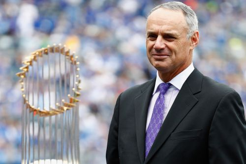 Rob Manfred apologizes for 'disrespectful' World Series trophy comment