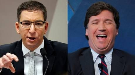 Tucker Carlson a socialist?! Liberals roast Glenn Greenwald over Daily Caller interview they apparently didn't bother to watch