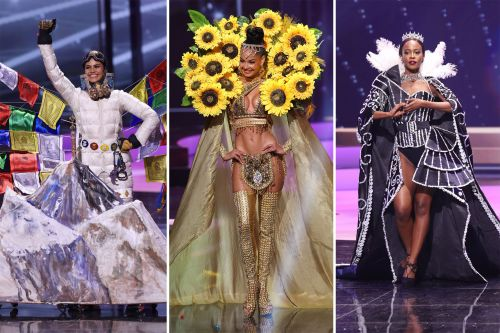 The wonderful wackiness of the Miss Universe costume contest