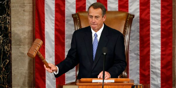 John Boehner says his time as House speaker was like being the 'mayor' of a 'Crazytown' full of 'jackasses'