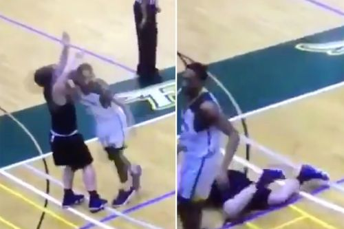 Is this why college hoops star snapped and threw viral cheap shot?