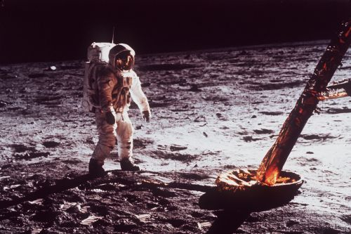 Shoot for the moon; half a century later, the moon is still great for business
