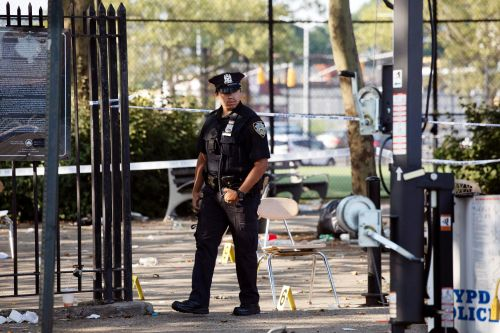 Man confesses to sparking Brooklyn block-party shooting: cops