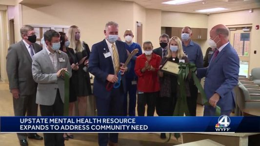 Upstate mental health resource expands to address community need