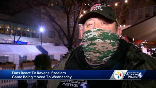 Steelers fans react to game being moved for third time