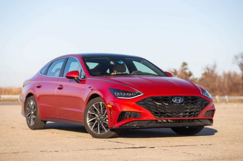REVIEW: The $34,000 Hyundai Sonata's practicality and radical design prove SUVs aren't always the answer