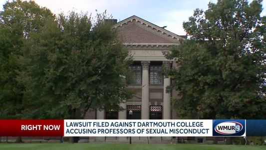 Dartmouth sued following professor misconduct allegations