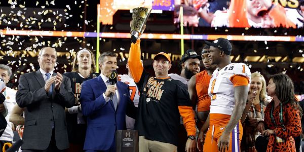 The Clemson football team will visit the White House and Trump says they're serving them Wendy's, McDonald's, and Burger King
