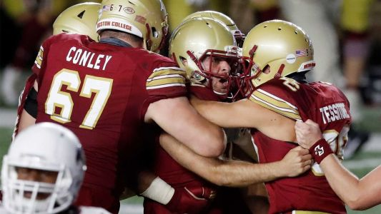 BC overcomes 14-point deficit to beat Texas State in home opener