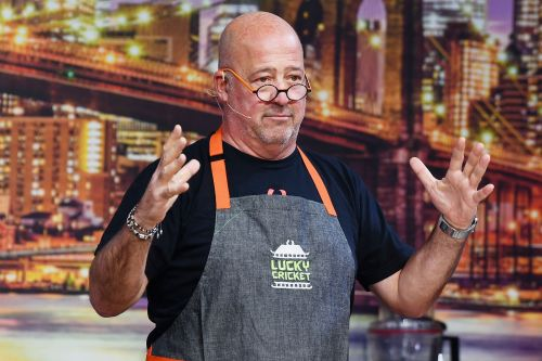 Andrew Zimmern didn't shower for a year while battling addiction