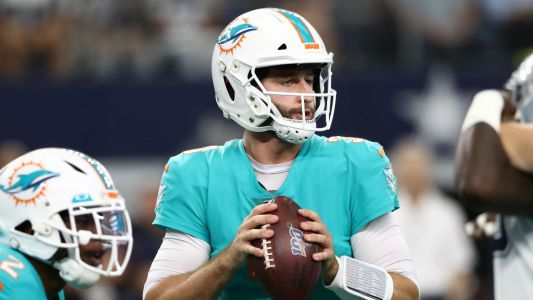 Brian Flores says quarterback Josh Rosen was 'alright' in first start with Dolphins