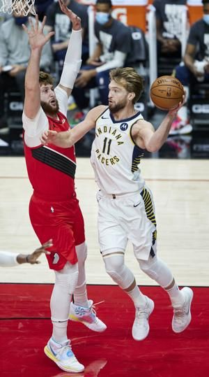 Portland's Nurkic fractures right wrist against Indiana