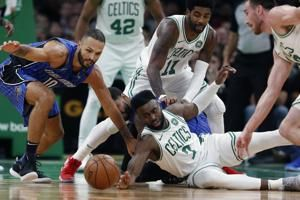 Vucevic scores 24 with 12 rebounds as Magic hold off Celtics