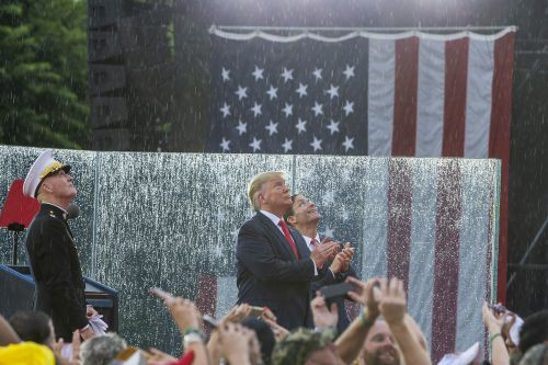 Trump predicts July 4 rally will cause a 'big spike' in military recruitment