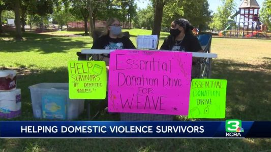 Sacramento County student helps domestic violence survivors